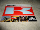 Vintage 1971 Kawasaki 100E Trail Boss Model G4TR Sales Brochure