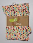 NWT Crazy 8 Multi Color Diamond Print Leggings Infant Toddler Girls 18 24 Month