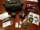 Canon EOS Rebel XSi 450D 122MP DSLR Camera w Tamron 18 270 mm lens and extras