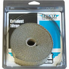 Drag Specialties 1 Fiberglass Exhaust Wrap for Harley Motorcycles Bronze