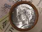 20 SILVER DOLLAR ROLL 1925 and S Mint PEACE DOLLAR ENDS