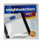 Weight Watchers Glass and Stainless Steel Designer Digital Bathroom Scale La