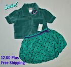 Gymboree 1989 Place Toddler Girls 2 Piece Outfit Set Size 3T Jacket
