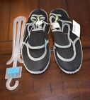 NIP Boys Black Closed Toe Water Shoes The Childrens Place Size 2 3 Youth NEW