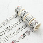 Chinese Style Poetry Washi Tape Decor Scrapbooking Office Adhesive Tapes Sticker