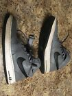 NIKE AIR FORCE 1  Mid Black and Grey with Straps  Size 13 in Mens
