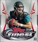2014 Topps Finest Football sealed hobby box 12 packs of 5 cards 2 auto
