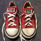 CONVERSE All Star Shoes RED Baby Toddler Boys Girls Size 10