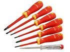 Bahco BAHCOFIT Insulated Screwdriver Set of 7 Slotted / Phillips BAH220027