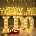 Marquee Sign LED Night Light Party Decor Lamp Letters Pattern Alphabet