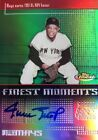 2004 Topps Finest Willie Mays Auto San Francisco Giants Autograph