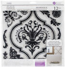 Iron Orchid Designs Decor Clear Stamps 12X12 Arabesque Part 815974 by Prima