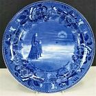 Wedgwood 1908 Plate Boston Council #44 A Ray of Hope Across A Cheerless Prospect