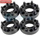 4 15 6 Lug Hubcentric Black Wheel Spacers Adapters 6x135 for Ford F 150