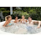 Spa Tub Massage Inflatable Relaxing Portable Cushioned Floor Quick Drain System