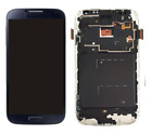 For Samsung Galaxy S4 i337 M919 i9500/9505 LCD Digitizer Touch Screen+Frame Blue