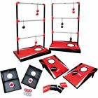 Outdoor Game Set 3in1 Toss Combo Cornhole Backyard Lawn Yard Kid Adult Party New