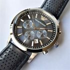 ✔ New In Box EMPORIO ARMANI Navy Blue Chronograph Men`s Watch AR2473