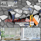 Frosted Film Glass Home Bathroom Window Security Privacy Sticker 5039b