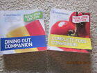 Sale 2008 WEIGHT WATCHERS Set of Companion Books Dining Out  Complete Food