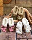 Womens Mossy Oak Fleece Dawgs Clogs Slippers Removable Liner 7 8 9 10 Camo Shoes