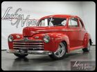 1946 Ford Other Street Rod All Steel 1946 Ford Coupe Street Rod All Steel 18102 Miles Red 350ci