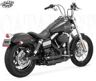 Vance and Hines Shortshots for Harley Dyna VH 47227 Exhaust fits 2012 17 FXD