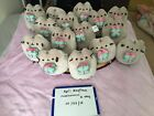 Pusheen Sold Out Claires Exclusive Holding Christmas Present Plush NWT