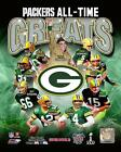 Green Bay Packers All Time Greats 8x10 Collage Starr Nitschke Favre Rodgers Etc