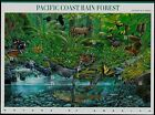 2000 PACIFIC COAST RAIN FOREST Nature of America 2 MNH Sheet 10 33 Stamps 3378