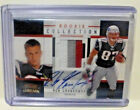 2010 Panini Threads ROB GRONKOWSKI Auto 4 Color Patch Rookie PRIME Card 10 15