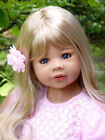 RARE NIB Masterpiece Dolls Coco Blonde Hair BLUE Eyes By Monika Levenig 39