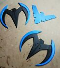 Nightwing Wingdings and Logo 3d Printed