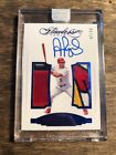 2017 PANINI FLAWLESS ALBERT PUJOLS GAME USED LOGO PATCH AUTO 10 - ENCASED