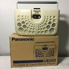 Panasonic 8 Track Tape Player Swiss Cheese RQ 833S With Box Works Great