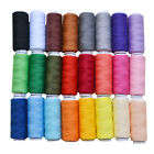 Machine Embroidery Sewing Polyester Thread 24 Spools Lot Colors 200 Ya
