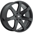 22x95 Black Black Rhino Mozambique Wheels 5x55 +20 Fits DODGE DURANGO