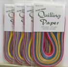 Quilling Paper 1 8 4 NEW Multi Color Packs 400 total pieces Acid Free