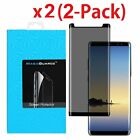 2 Pack For Samsung Galaxy Note 8 Privacy Tempered Glass Screen Protector