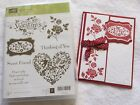 Stampin Up You Are Loved Valentines Day Heart Flowers Bird