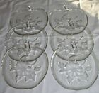 Lot of 6 Hazel-Atlas Orchard Ware APPLE Pattern Salad Plates