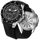 Tissot T-Navigator Automatic Chronograph Black Dial Stainless Steel Swiss Watch