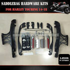 One Touch Opening Saddlebag Latch Lids Hardware Kit For Harley Touring 14 18 US