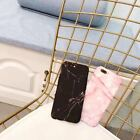 Glossy Hard Back Granite Marble Phone Case Cover For Apple iPhone 6S 7 8 Plus