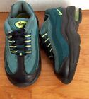 NIKE Air Little Max 95 TD Toddlers Size 5C Running Shoes Green 311525