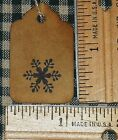 SALE 100 XSMALL SNOWFLAKE PRIMITIVE CHRISTMAS CRAFT PARTY PRICE DECOR HANG TAGS