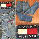 VTG Tommy Jeans FREEDOM JEAN Spell Out FLAG Hip Hop Baggy 30 x 30 Hilfiger Denim