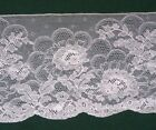 3+ YARDS VINTAGE CARDED CHANTILLY LACE WHITE 5 1 2 WIDE STERLING NYc1930