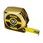 Stanley Golden 50 Year PowerLock Tape 5m Celebrate Limited Edition Top Quality..