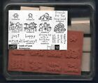 NEW LOADS OF LOVE ACCESSORIES 12 pc SET Pick Up Truck Stampin Up Rubber Stamp